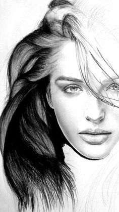 ) jeune femme – Discover The Secrets Of Drawing Real… Pencil Portrait Mastery – (?) jeune femme – Discover The Secrets Of Drawing Realistic Pencil Portraits Portrait Au Crayon, Pencil Portrait, Portrait Art, Portrait Paintings, Female Face Drawing, Drawing Faces, Pencil Art, Pencil Drawings, Art Drawings