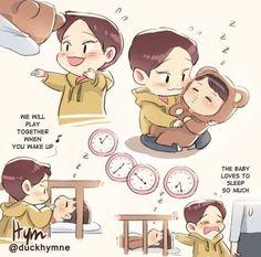 Read [Capítulo único] from the story Vamos Nini, despierta [ChenKai] Kpop Fanart, Chanbaek Fanart, Kaisoo, Exo Chen, Exo Kai, Chanyeol, Kyungsoo, Kokobop Exo, Exo Cartoon
