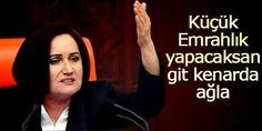 Devriye Haber : MHP'li Akşener: Erdoğan'a Oy Veren Şehitlerin Kemi...