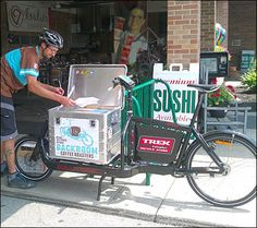 Fresh Coffee Delivered by Bicycle