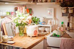 Rangement à épices sous meubles hauts de la cuisine