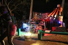 Food and music are the main attractions on Mindil Beach Sunset Market in Darwin.