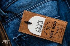 Vintage hang-tag made by Panama Trimmings - Italy