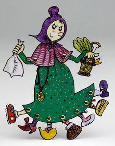 Cada any l'Ajuntament de Reus fa l'encàrrec de la Vella Quaresma a un artista. L'any 2006 li van fer l'encàrrec a la Pilarin Bayés. Religion Catolica, Christmas Crafts, Christmas Ornaments, Tattoo Illustration, Whimsical Art, Conte, Halloween, Paper Dolls, Activities For Kids