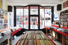 The definitive guide to London's best record shops || I need to plan a trip. IMMEDIATELY.