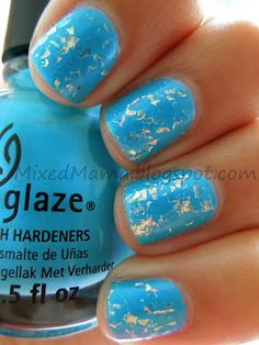 China Glaze Towel Boy Toy and Luxe and Lush