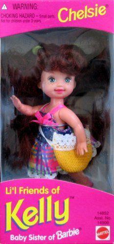Barbie Lil Friends of Kelly CHELSIE Doll (1995) by Mattel, http://www.amazon.com/dp/B000T067TY/ref=cm_sw_r_pi_dp_h3gErb146H3WN