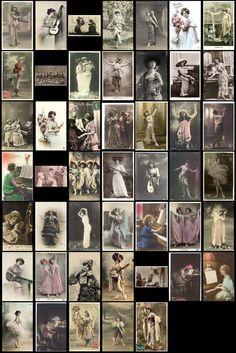 Digitale Bilder Sammlung Musik und Tanz 95 von ImagesCollection