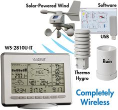 LaCrosse Solar Weather Station w/remote monitoring @ $280.
