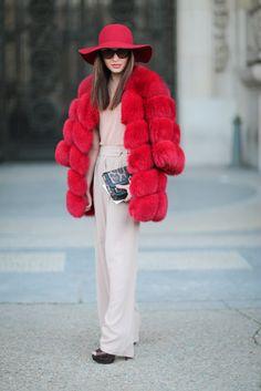 Street Style Paris Fashion Week Februar/März 2016   POPSUGAR Deutschland Mode