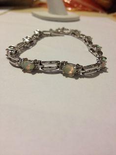 #Opal #Sterling #Bracelet #opalbracelet #vintagebracelet #vintagejewelry #jewelry #opaljewelry #sterlingsilver #mothersdaygift #southwesternjewelry #vintage #opalsterlingbracelet #vintageopalbracelet #australianopals #sterlingbracelet #jewellry http://etsy.me/1C1vlXs @Etsy