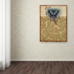 "19 in. x 14 in. ""Salt Meadow Butterfly"" by Rachel Paxton Printed Canvas Wall Art"