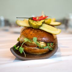 The Source (Wolfgang Puck) - Tiny Urban Kitchen Happy Birthday Julia, Wolfgang Puck Recipes, Best Chinese Food, Urban Kitchen, Chicken Sandwich, Main Meals, Fine Dining, Salmon Burgers, Chefs