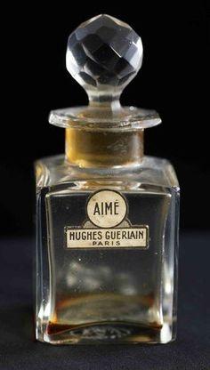 Tendance parfums  Guerlain AIME HUGHES PARIS Baccarat Bottle