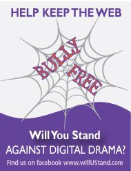 Print off a halloween themed anti-bullying message to include in your treat bags.  FREE!  Just download, print & share http://www.willuStand.com/resources.php