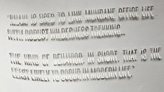 drape via http://typography-daily.com/blog/2013/05/06/paper-type-experiments/