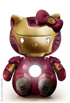 Hello kitty x Iron Man!