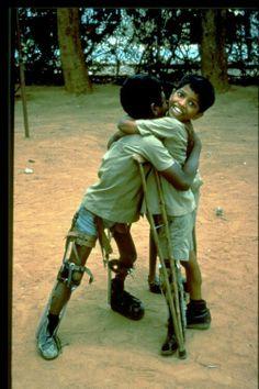 Boys with Polio