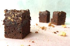 Rocky road sinterklaas brownies. Chickslovefood