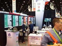 Lika's booth E-4354 at #IMTS in #Chicago. Come see a comprehensive selection of our rotary and linear #encoders at the show! Photo from Day 1