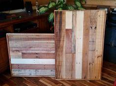 Reclaimed wood frame Pallet Frame 24 x 36 rustic | Etsy