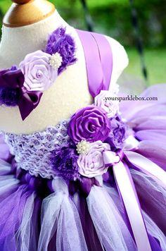 Your Sparkle Box Flower Girl Tutu Dresses for weddings