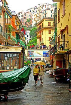 | ♕ | Día de lluvia en Manarola | by © PierreG_09 | mediante ysvoice