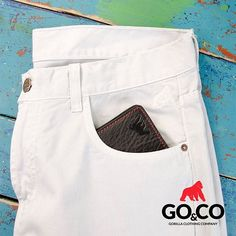 Que ese pantalón blanco que tienes reservado en tu armario para un día especial sea #Goco, la marca que tiene tu estilo #LaMarcaDelGorila. Si aún no lo tienes ingresa a nuestra tienda online  www.gococlothing.com  y recibe tu pedido en cualquier parte del país. ¡El envío es GRATIS!