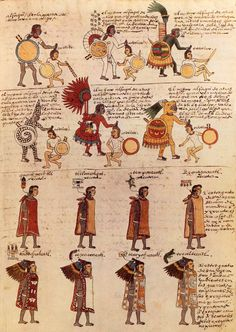 "The Codex Mendoza. What makes this book extraordinary is that it was a book about the Aztec people, written by Aztec scribes and informants. It is what some scholars call the first ""autoethnography"", a biography of an entire people written by members of the group."