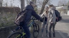 HEXAGON Rear View Bike camera, light, blinkers all in one. - YouTube