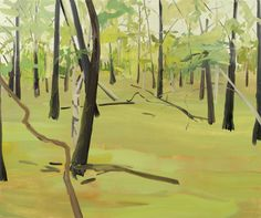 Claire Sherman Birch Tree, 2005,   5' x 6', Oil on canvas http://www.clairesherman.com/images_p2005_7/2005/06birch_tree.jpg