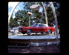 1964 Mustang Worlds Fair | 1964 NYC World's Fair Ford Mustang Kodachrome