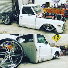 "Hot Wheels - Yeah @krazy_cool_kustomz sure have this C10 laying hard on 26""…"
