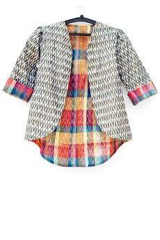 Ikat Summer Jacket #ItrByKhayatiPande