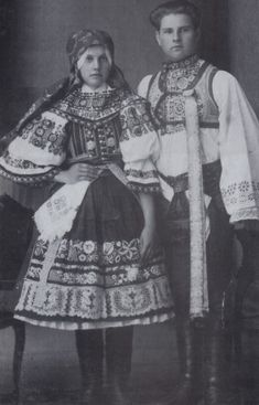 The Folk Aprons of Czechoslovakia Folk Costume, Costumes, Folk Clothing, Tie Dyed, Eastern Europe, Blue Fabric, Costume Design, Traditional Outfits, Apron