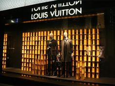 Visual: LOUIS VUITTON - Vidrieras de Tokyo