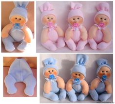 Baby mold (that's how it looks) - Stofftiere Baby Dolls, Sock Dolls, Baby Model, Felt Baby, Sewing Dolls, Felt Toys, Soft Sculpture, Diy Doll, Cute Dolls