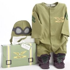 Baby Pilot Layette Set -- for newborns