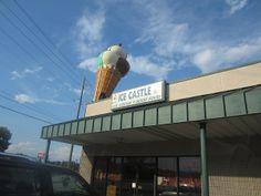 Ice Castle, Dalton GA | Marie, Let's Eat!