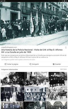Alfonso XIII en Coruña