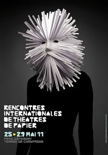 Benoit Pelletier (Agence Diabolus) – Les Rencontres Internationales de Théâtres de Papier (2011) Photo Diego Riestra