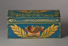 An Exceptional Decorated Dome Top Box
