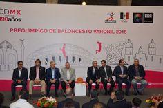 Será CDMX sede de Preolímpico de Baloncesto Varonil 2015