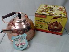 New Vintage Copper Aluminum Tea Kettle, Heavy Gauge, Early American Design American Decor, Early American, Kettle, Over The Years, Copper, Mid Century, Tea, Vintage, Design