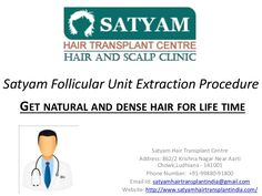 Our New PPT about the our centre and FUE technique. Must check it you're going for the fue hair transplant.