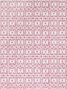 Fret Pink Wallpaper 4760705 by Stroheim Wallpaper Pink Wallpaper Pattern, Animal Print Wallpaper, Orange Wallpaper, Wallpaper Size, Geometric Wallpaper, Wallpaper Samples, Fabric Wallpaper, Screen Wallpaper, Contemporary Wallpaper