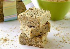 <p>Here is a recipe for Raw Hemp and Chia Seed Bars, which is a healthy and nutrient-dense raw food snack.  They pretty much have all my favorite ingredients…hemp seeds, chia seeds, coconut oil, and nut butter. Loaded with protein, calcium, healthy fats and fiber, these bars are perfect for snacks or even as a breakfast bar.  </p>