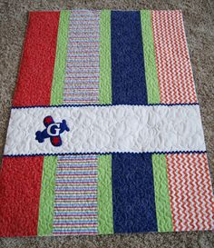 airplane quilt for boys