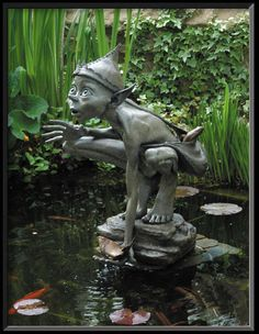 my all time favorite artist for garden sculpture yet.  love this guy
