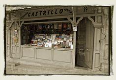 Librería de la Cuesta de Moyano (Madrid) Spain    www.vicentemendez.com